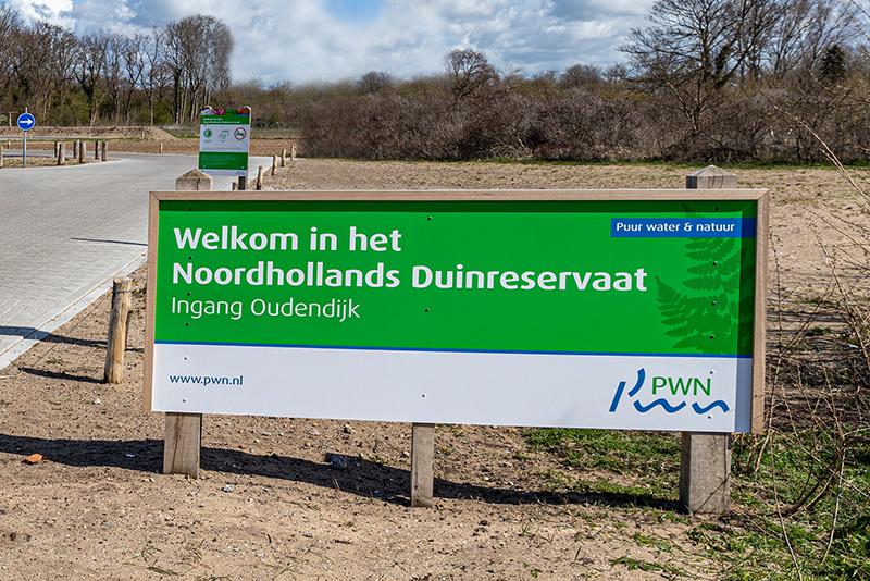 Ingang duinen Heemskerk